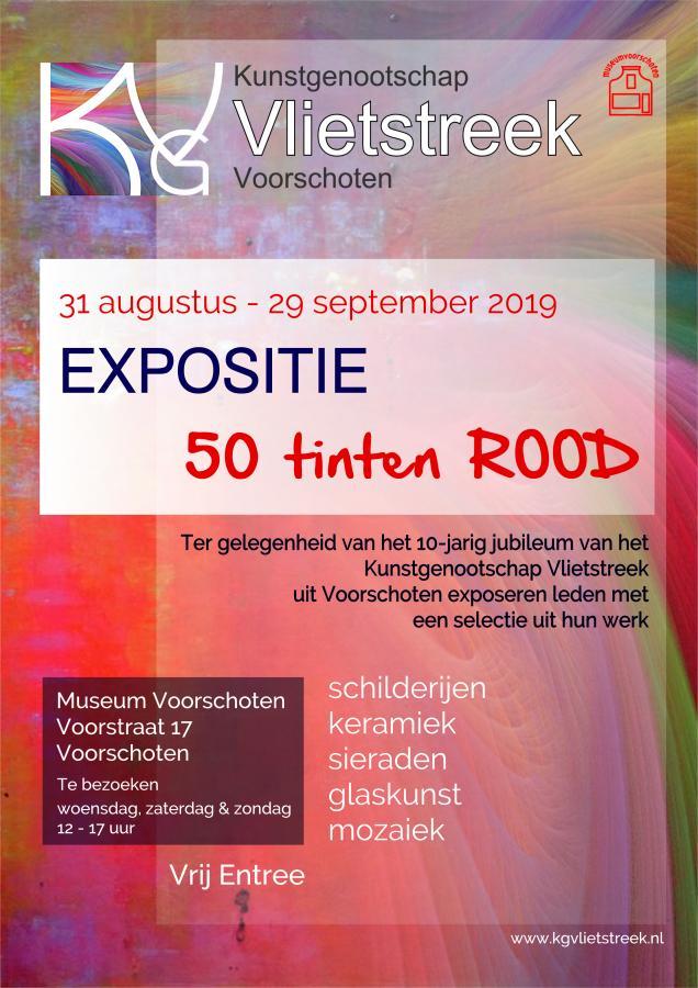 KGV Expo 50 tinten ROOD